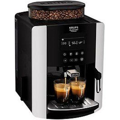 Krups Arabica Digital Ea817840 Espresso Bean To Cup Coffee Machine - Silver
