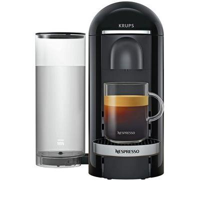 Nespresso Vertuo Plus Pod Coffee Machine by Krups-Black