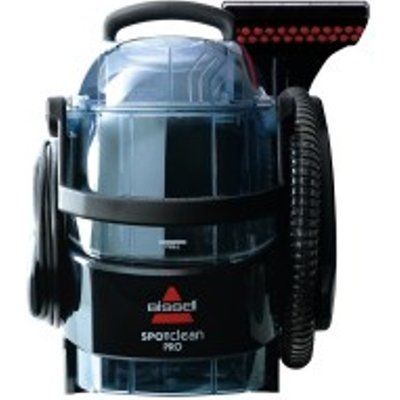 Bissell 1558E SpotClean Pro 750W 2.8L Carpet Cleaner - Black