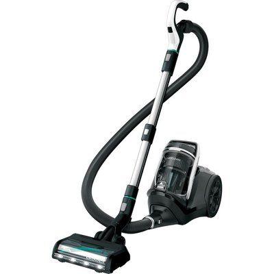 Bissell SmartClean Pet Cylinder Bagless Vacuum Cleaner - Black