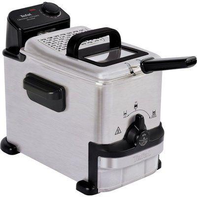 Tefal Oleoclean Compact FR701640 Deep Fryer - Stainless Steel & Black
