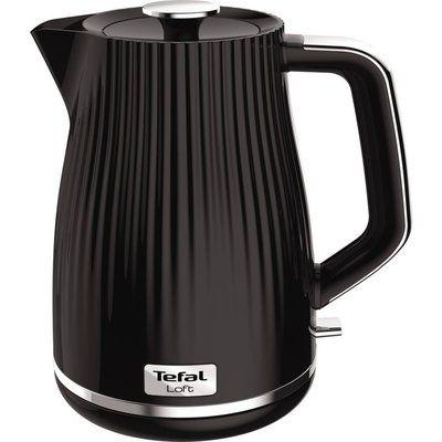 Tefal Loft KO250840 Rapid Boil Traditional Kettle - Piano Black