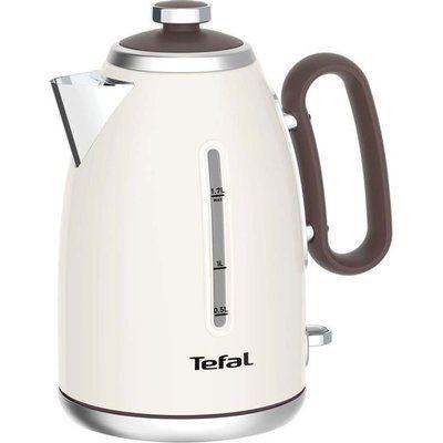Tefal Retra KI780A40 Jug Kettle - Cream & Mokka