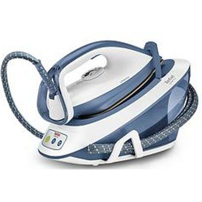 Tefal SV7020 Liberty Steam Generator Iron - White And Blue