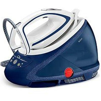 Tefal Pro Express Ultimate GV9580 High Pressure Steam Generator Iron - Blue And White