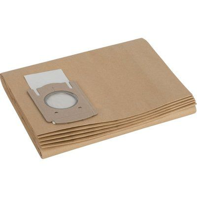 Bosch Paper Filter Bags for PAS12-50F Pack of 5