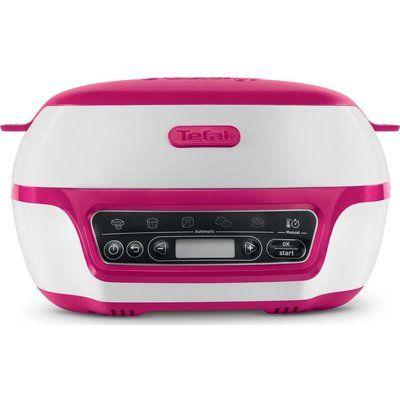 Tefal Cake Factory KD801840 Intelligent Cake Maker - White & Pink
