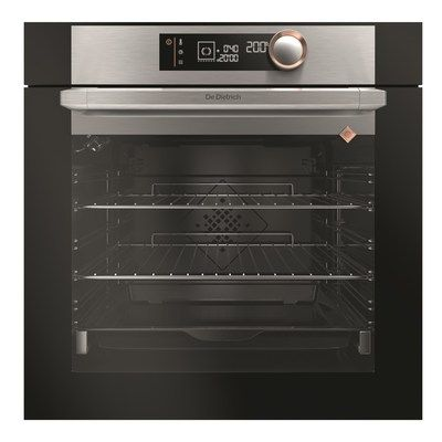 De Dietrich DOC7360X Multifunction 73L Single Oven with Catalytic Liners - Platinum