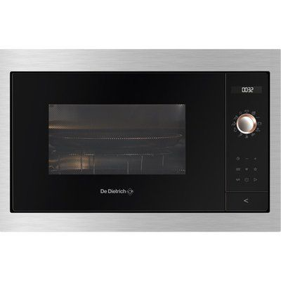 De Dietrich DMG7129X Built In Microwave With Grill - Platinum