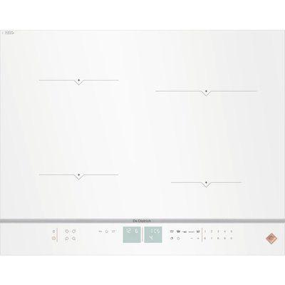 De Dietrich DPI7670W Electric Induction Hob - White