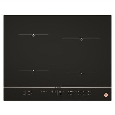 De Dietrich DPI7670XU 65cm 4 Zone Induction Hob 7 Functions 15 Power Levels - Black