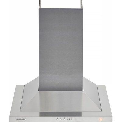 De Dietrich DHP7612X Chimney Cooker Hood - Stainless steel