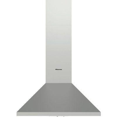 Hisense CH6C4AXUK Chimney Cooker Hood - Stainless Steel