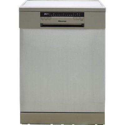 Hisense HS60240XUK Standard Dishwasher - Stainless Steel