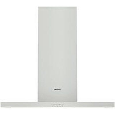 Hisense Ch9T4Bxuk 90Cm Wide T-Shaped Chimney Hood - Stainless Steel