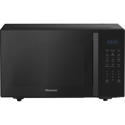 Hisense H28MOBS8HGUK 28 Litre Microwave With Grill - Black