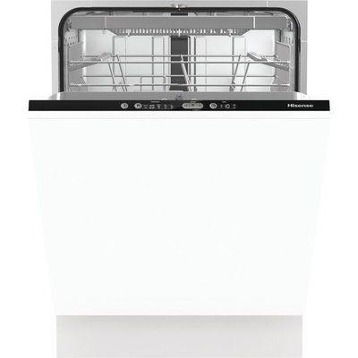 Hisense HV661D60UK Fully Integrated Standard Dishwasher - Black