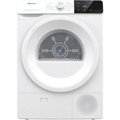 Hisense DHGE901 9Kg Heat Pump Tumble Dryer - White