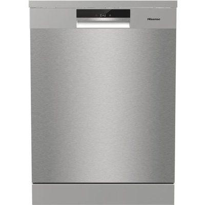 Hisense HS661C60XUK Standard Dishwasher - Stainless Steel