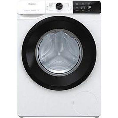 Hisense WFGE10141VM 10Kg Load, 1400 Spin Washing Machine - White