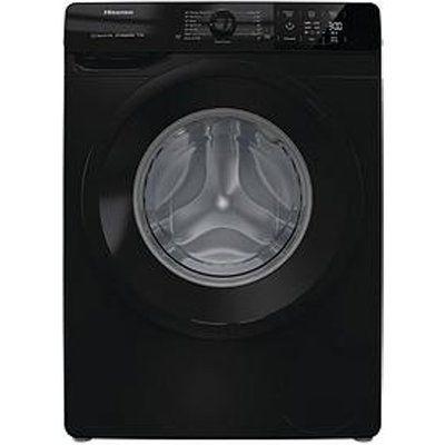 Hisense WFGE90141VMB 9kg Load 1400 Spin Washing Machine - Black