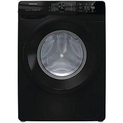 Hisense WFGE80141VMB 8KG Load 1400 Spin Washing Machine - Black