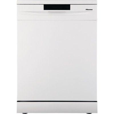 Hisense HS620D10WUK Standard Dishwasher - White