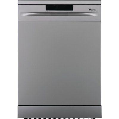 Hisense HS620D10XUK Standard Dishwasher - Stainless Steel