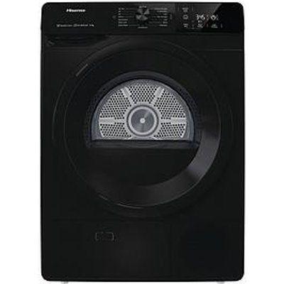 Hisense DHGE801B 8Kg Heat Pump Tumble Dryer - Black
