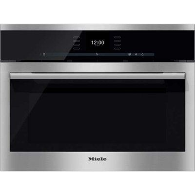 Miele ContourLine DGC6500 Built In Compact Steam Oven - Stainless Steel