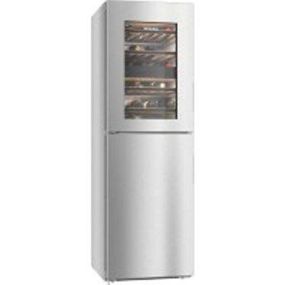 Miele KWNS28462ECLST 153L Frost Free Fridge Freezer