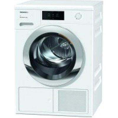 Miele TCR860WP 9kg Heat Pump Condenser Dryer - White