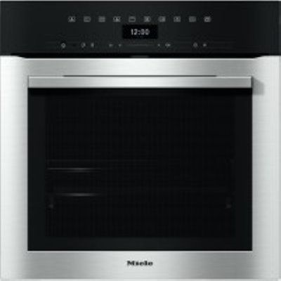 Miele H7364BPCLST Built-In Single Oven with Steam