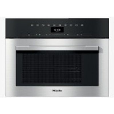 Miele DGM7340CLST Built-In Single Steam Oven with Microwave