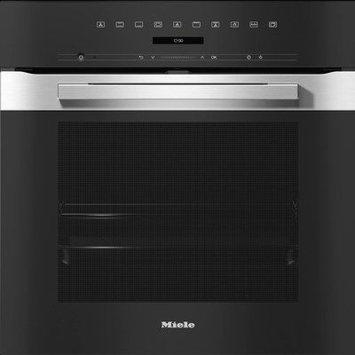 Miele 76L Multifunction Electric Built-in Single Oven - Stainless Steel