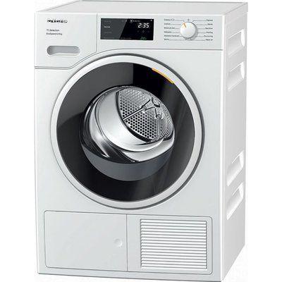 Miele T1 TSF643WP 8Kg Heat Pump Tumble Dryer - White