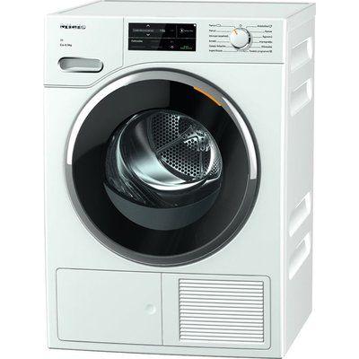 Miele TWJ660 WP WiFi-enabled 9 kg Heat Pump Tumble Dryer - White