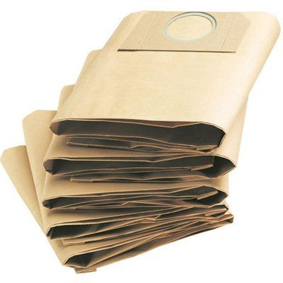 Karcher Paper Filter Dust Bags for MV and WD 3 Vacuum Cleaners Pack of 5