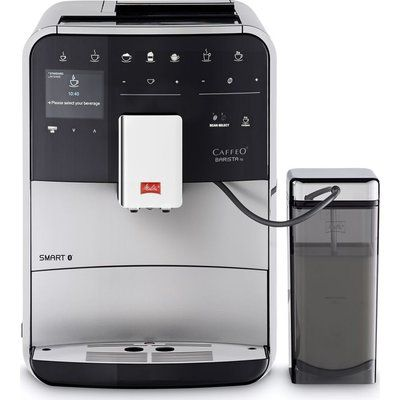 Melitta Caffeo Barista TS F85/0-101 Smart Bean to Cup Coffee Machine - Silver