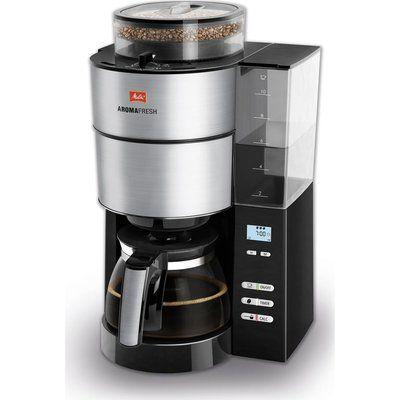 Melitta MELLITA AromaFresh Filter Coffee Machine - Black & Stainless Steel