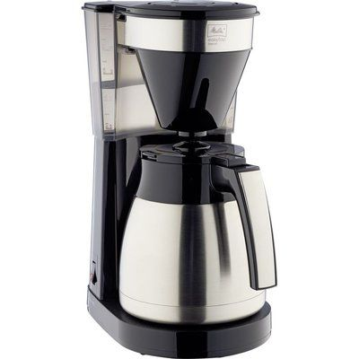 Mellita Easy Top Therm II Filter Coffee Machine - Black & Stainless Steel