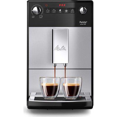 Melitta Purista F230-101 Bean to Cup Coffee Machine - Silver