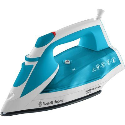 Russell Hobbs Supreme 23040 Steam Iron - White & Blue