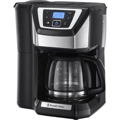 Russell Hobbs Chester 22000 Grind and Brew Bean to Cup Coffee Machine - Black & Silver