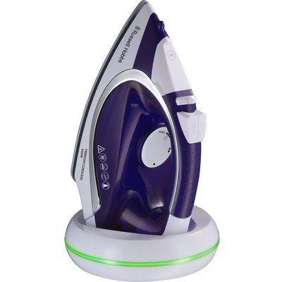 Russell Hobbs Freedom 23300 Cordless Steam Iron - Purple & White