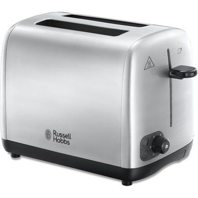 Russell Hobbs Stainless Steel 24081 2-Slice Toaster - Silver