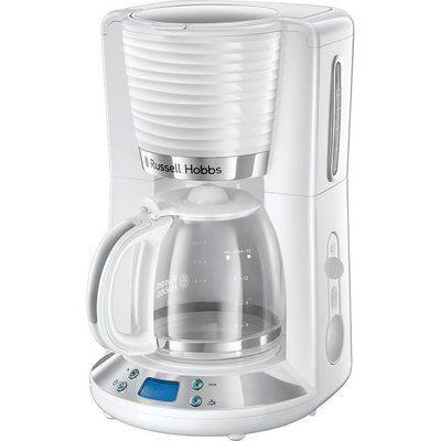 RUSSELL HOBBS Inspire 24390 Filter Coffee Maker - White, White