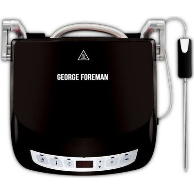 George Foreman 24002 Precision Grill - Black