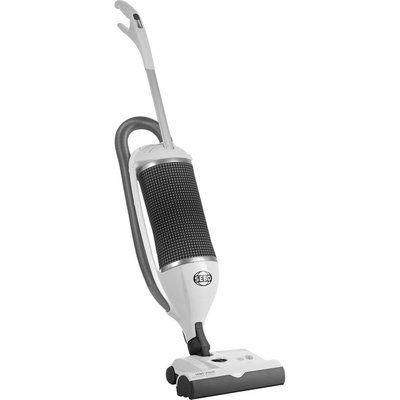 Sebo 9849GB Upright Vacuum Cleaner - Arctic White & Dark Grey