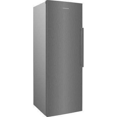 Grundig GFN3671N Tall Freezer - Brushed Steel
